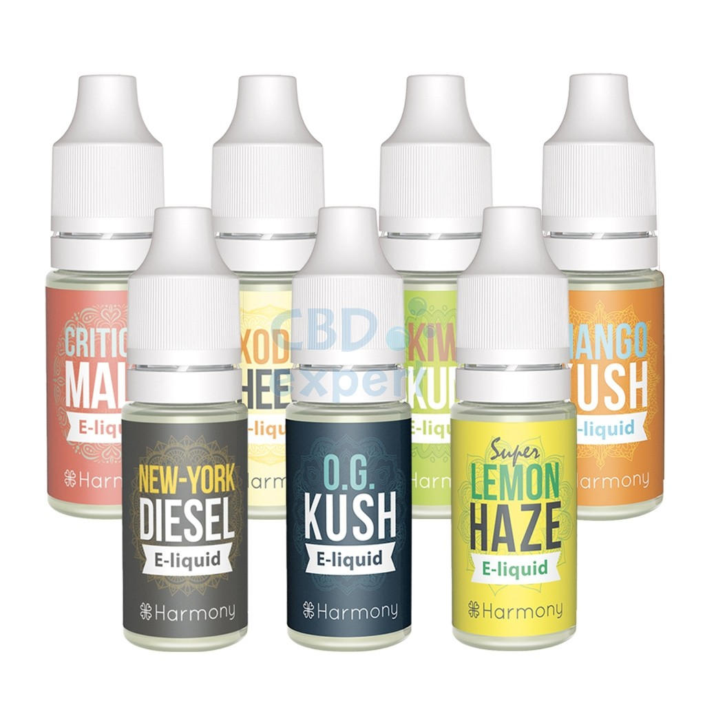 CBD E-Liquid Originals (Harmony) Terpenen 100 mg CBD 10 ml