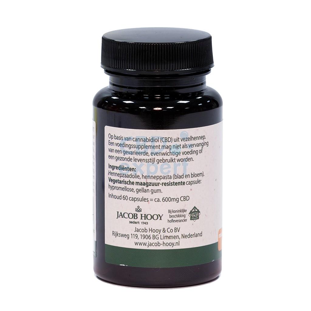 CBD Capsules (Jacob Hooy) 600mg 60 capsules