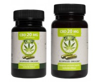 CBD Capsules (Jacob Hooy) 4% 20 mg