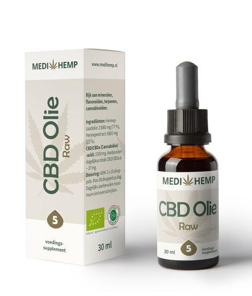 CBD olie raw Medihemp CBD-Expert