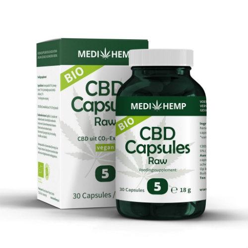 CBD capsules Medihemp CBD-Expert