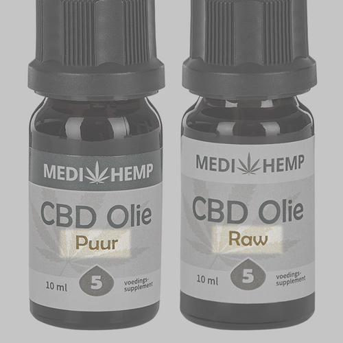 Medihemp CBD olie Raw Puur CBD-Expert